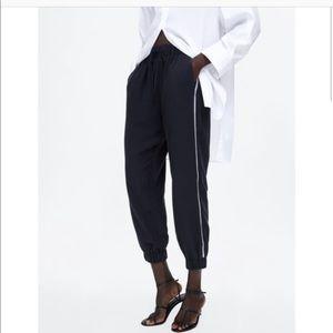 NEW Zara Striped Joggers